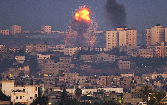Shelling of Gaza