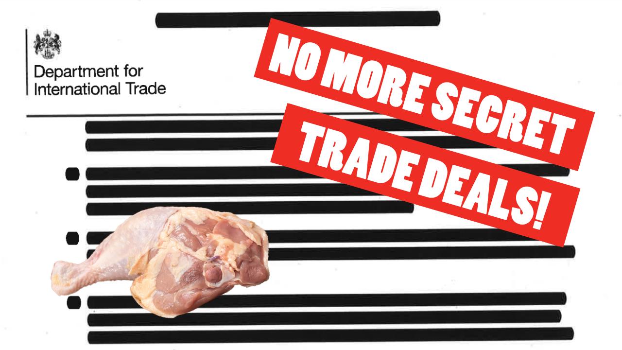 No more secret trade deals!