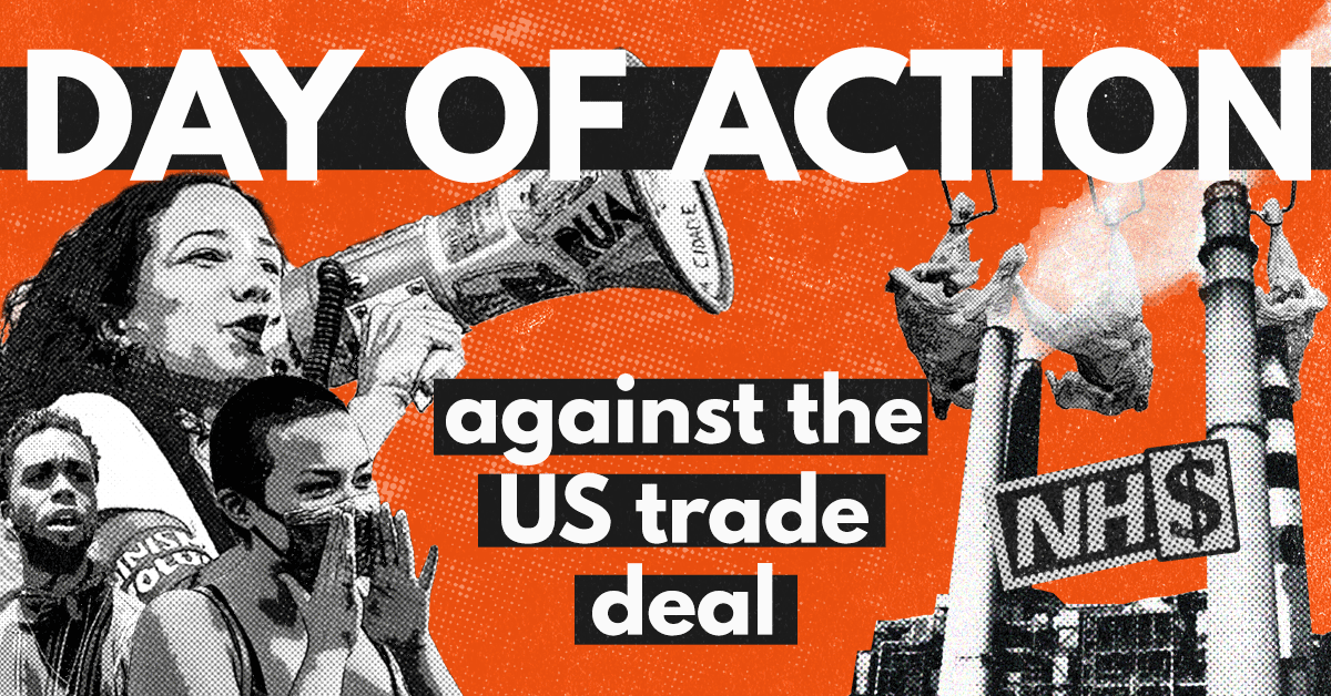 DAY OF ACTION against the US trade deal