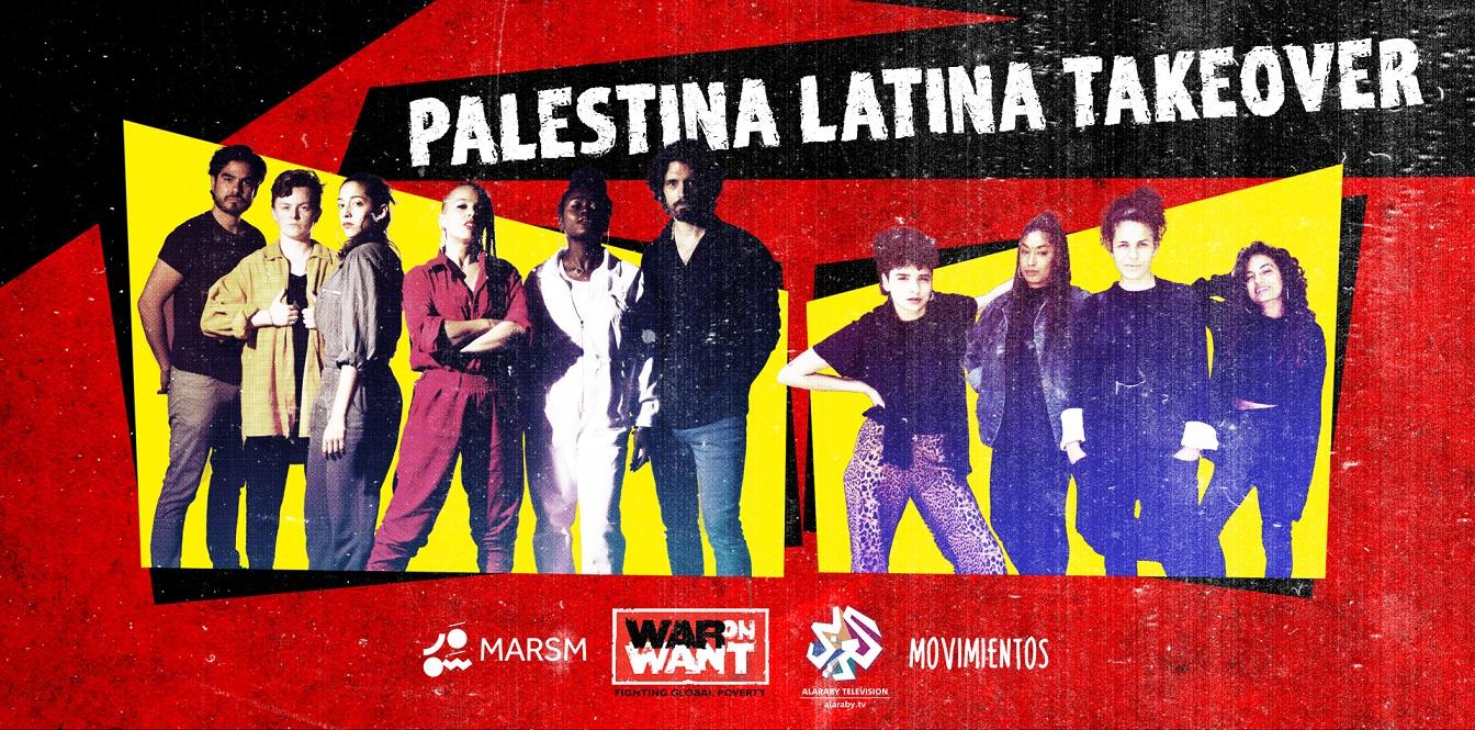 Palestina Latina Takeover