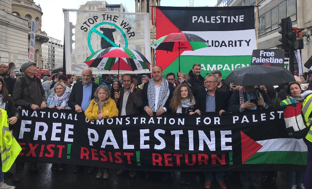Photo: Palestine Solidarity Campaign