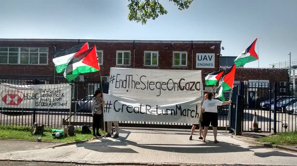 Stop Arming Israel campaigners renew focus on Elbit Systems