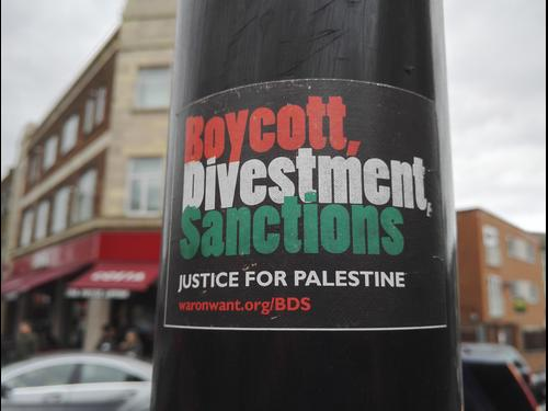 Boycott, Divestment, Sanctions sticker