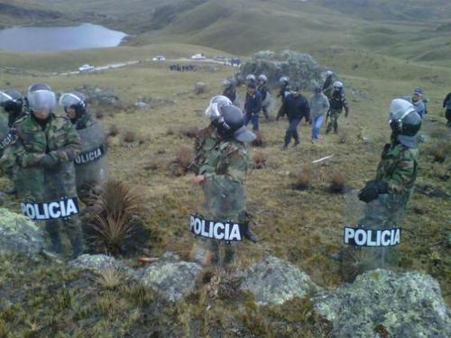 Militarisation of the lakes (Photo credit: PIC)