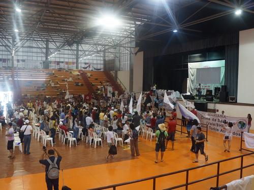A two-day assembly took place in Mariana (MG)                 Photo Credit: Sebastian Ordonez