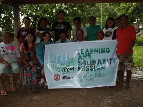 International solidarity mission, mining impact in the Philippines